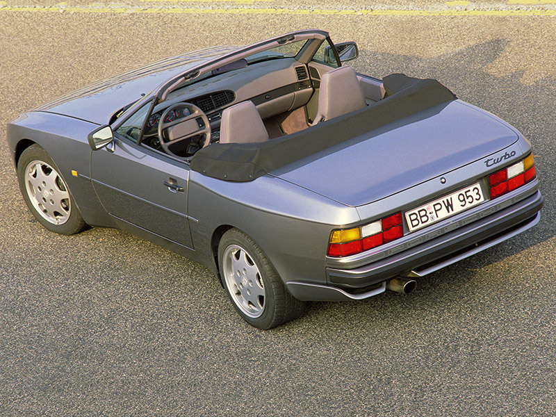 Welcome to the Porsche 944 Turbo Cabriolet web site!